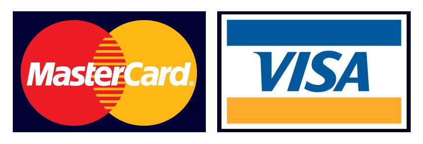 visa&mastercard logo